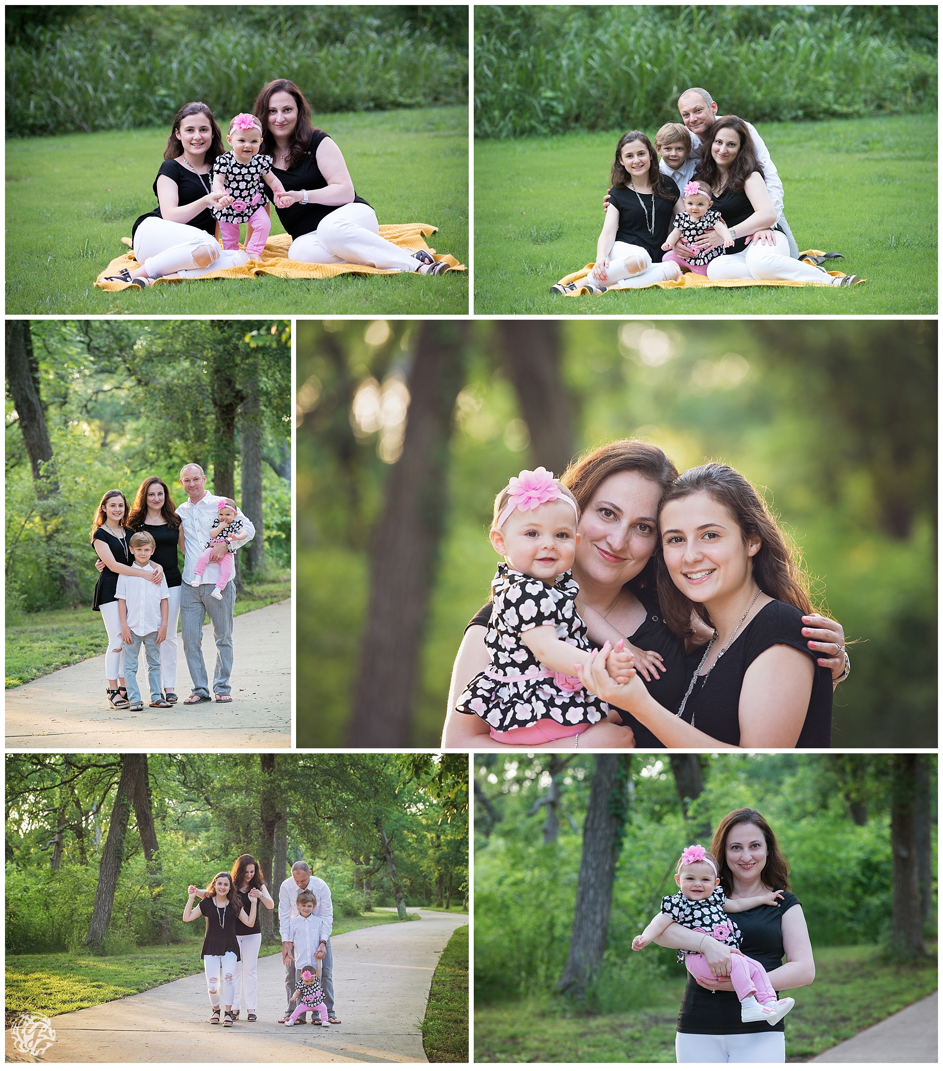 family photo session