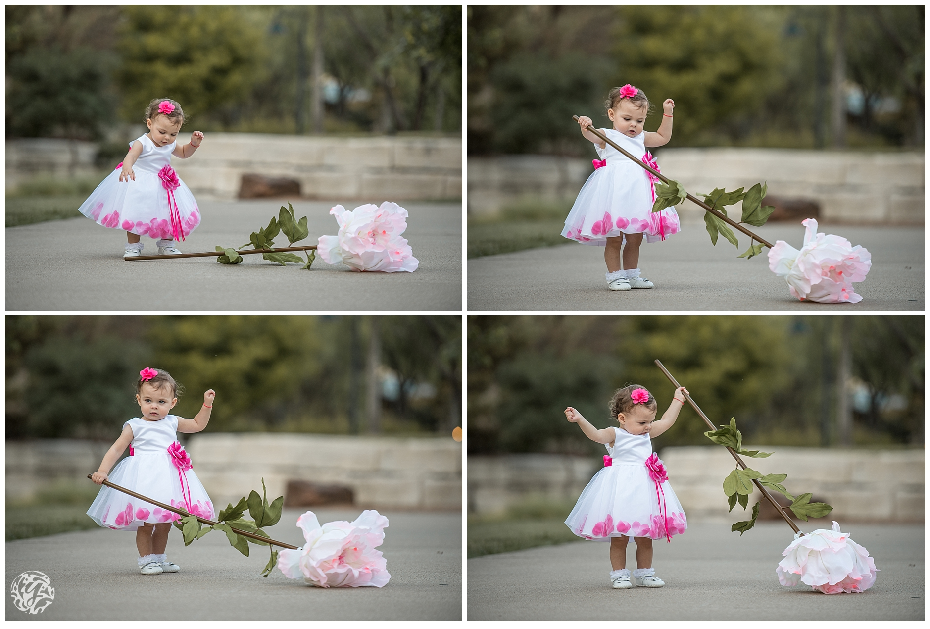 1 year photo session - girl with flower.jpg