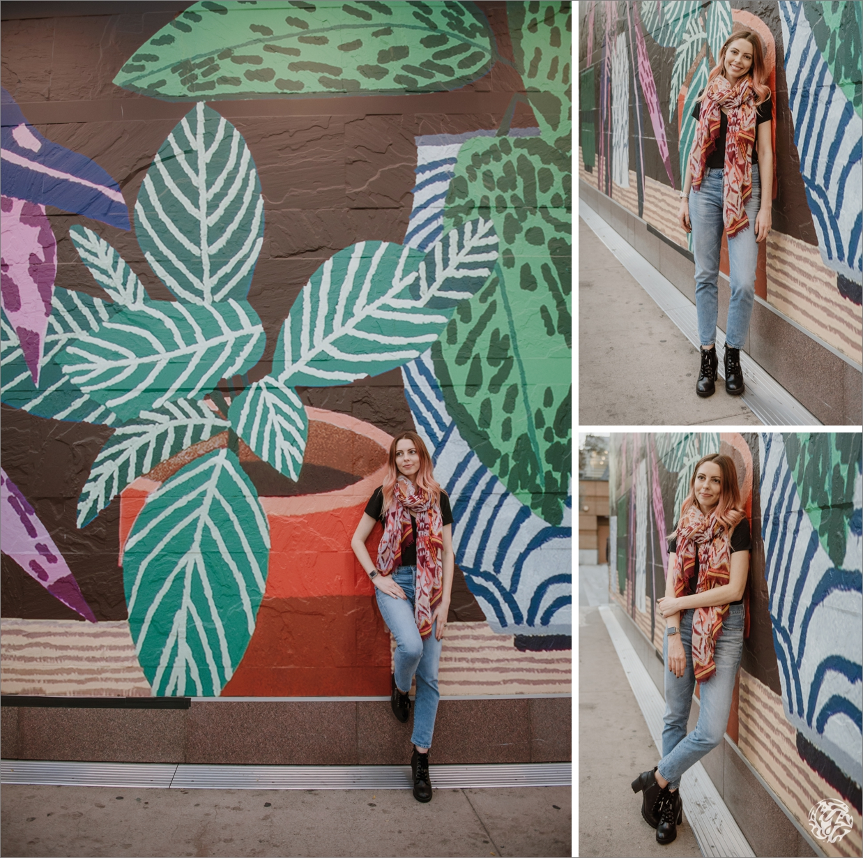 Los Angeles High School Senior Portrait Photographer - Yana's Photos - Los Angeles Graffitti.jpg